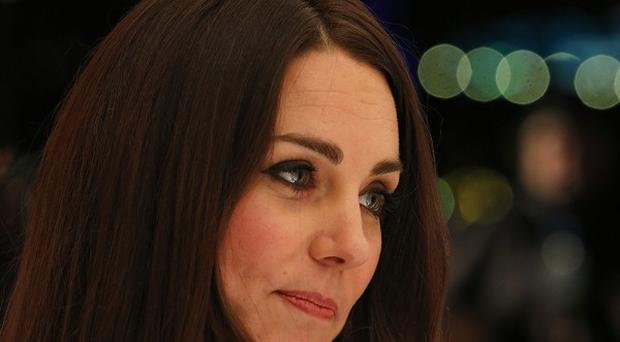 The Duchess of Cambridge visited the Shooting Star House Children's Hospice in Hampton, Middlesex