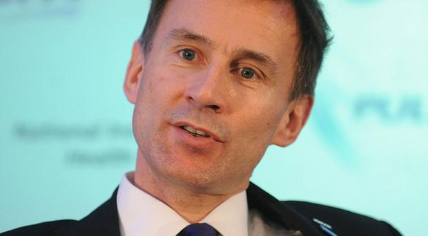 Jeremy Hunt says every patient in the NHS has a right to see a GP