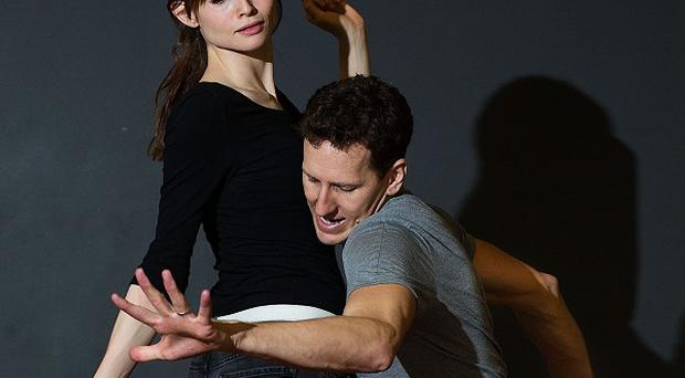 Sophie Ellis-Bextor gets into the swing with Strictly partner Brendan Cole