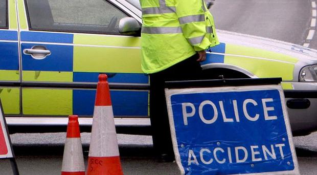 A woman and two men travelling in the same car died in a collision near Tamworth