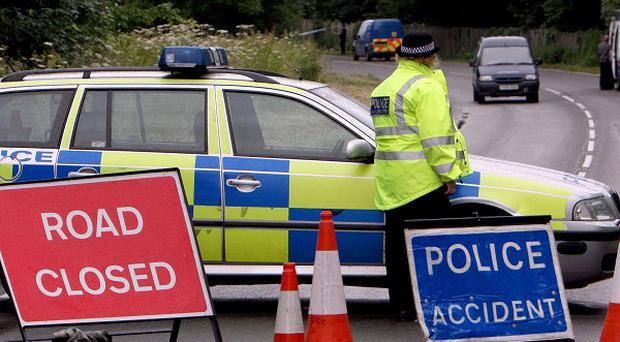 The road was closed between Crewe Road and Tansy Road. It has now reopened.