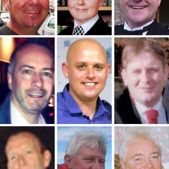 Two of the nine victims of the Glasgow helicopter accident will be laid to rest today.