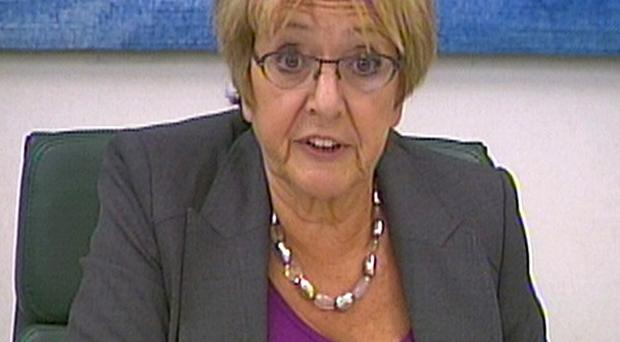 Margaret Hodge said the security of Britain's borders has been weakened