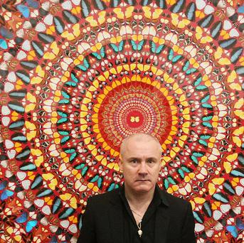 Two works signed by prize-winning artist Damien Hirst have been stolen