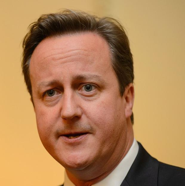 David Cameron has spoken of the policies he would like to introduce as leader of a single-party government.
