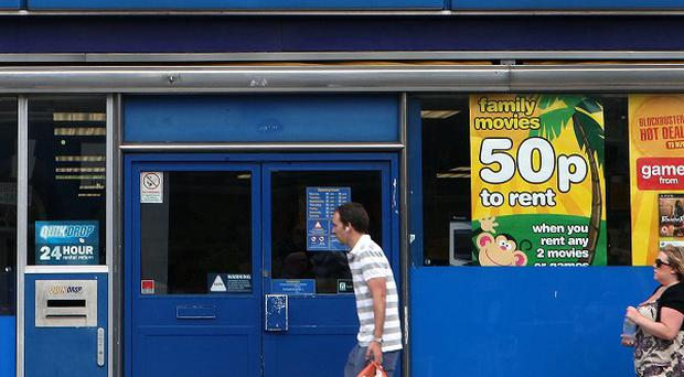 All Blockbuster shops are to close by Monday.
