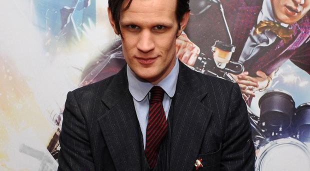 Outgoing Doctor Who star Matt Smith says his mum begged him to carry on in the show.