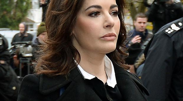 Jurors have been warned to ignore comments made by Prime Minister David Cameron about Nigella Lawson