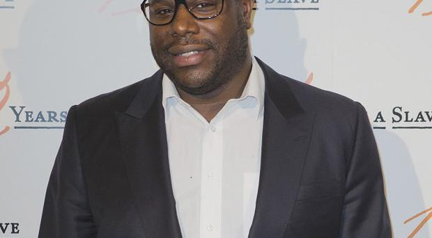 British director Steve McQueen at the premiere of his film 12 Years a Slave which has been nominated at the Golden Globes.