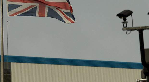 BAE Systems at HMS Nelson, Portsmouth - a protest march will take place in the city as the defence giant is to axe hundreds of jobs across its naval ships business