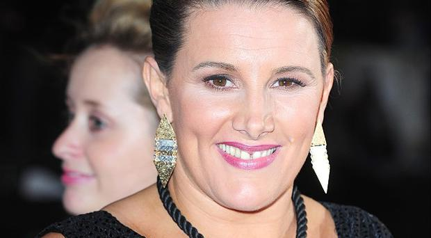 Sam Bailey said if she wins she wants to sit down with a 'builder's brew and a French Fancy'