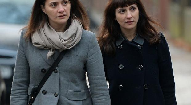 Sisters Elisabetta and Francesca Grillo are accused of committing fraud by abusing their positions as personal assistants to Charles Saatchi and Nigella Lawson