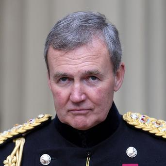 General Sir Nicholas Houghton warned that Britain is in danger of being left with hollowed out armed forces