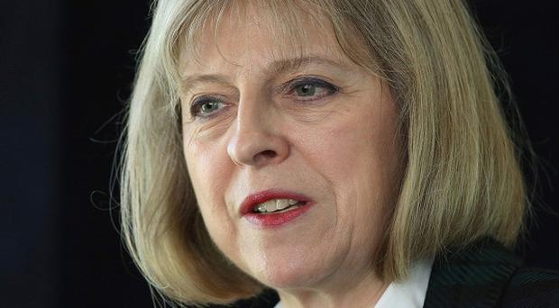 Home Secretary Theresa May said the murder of soldier Lee Rigby