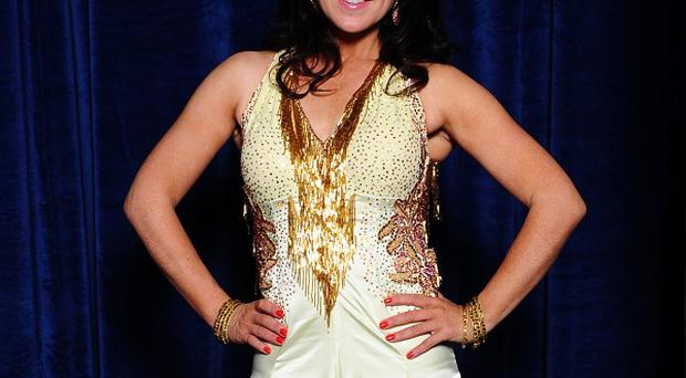 Former BBC presenter Susanna Reid, pictured here wearing a Strictly Come Dancing outfit, says she hopes job prospects for older women have improved
