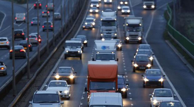 Millions of people will take to the roads as the Christmas getaway gathers pace