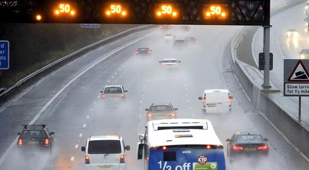 Winds of up to 80mph and localised flooding are predicted to coincide with the Christmas getaway