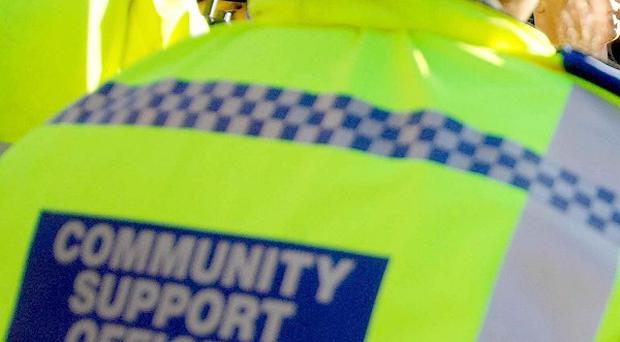 Police community support officers will be among strikers on New Year's Eve.