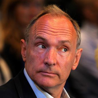 Sir Tim Berners-Lee has praised whistleblower Edward Snowden.
