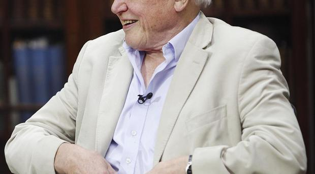 Sir David Attenborough said his insurers insisted on him having the device fitted