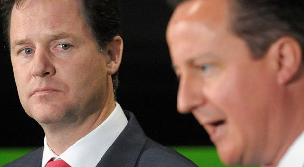 Nick Clegg and David Cameron, along with Ed Miliband, released a joint statement saying it is essential that aid reaches refugees