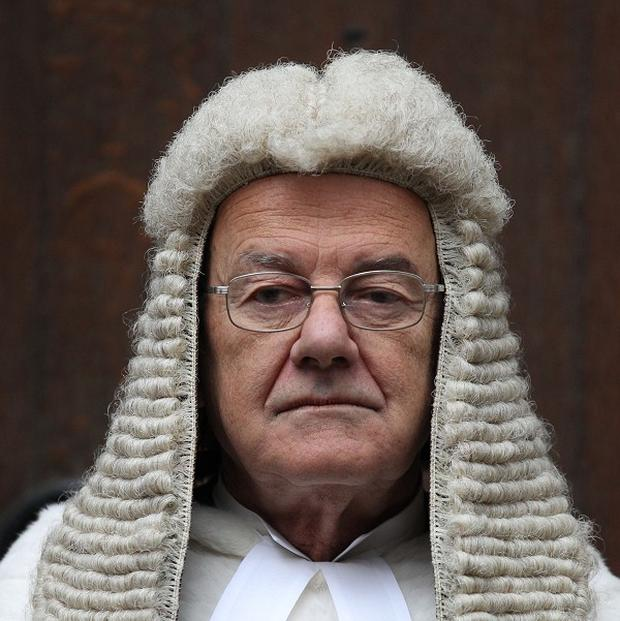 Lord Judge said Parliament needed to decide for itself how much power it was willing to cede to the European Court of Human Rights.