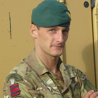 Captain Richard Holloway, of The Royal Engineers, was killed in action on December 23 (PA/MoD)