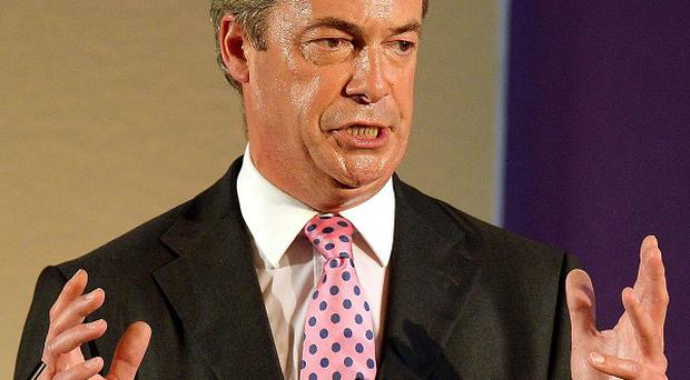 UK Independence Party leader Nigel Farage has called on the Government to allow Syrian refugees into the UK