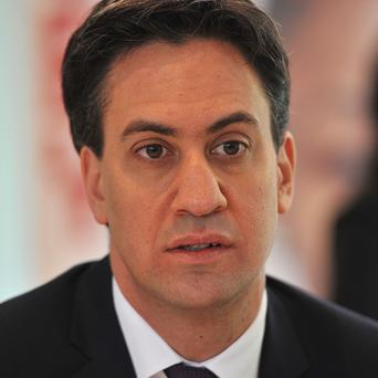 Labour leader Ed Miliband has highlighted the plight of families still struggling to make ends meet in what he called the