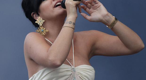 Lily Allen attacked today's showbiz scene for being full of