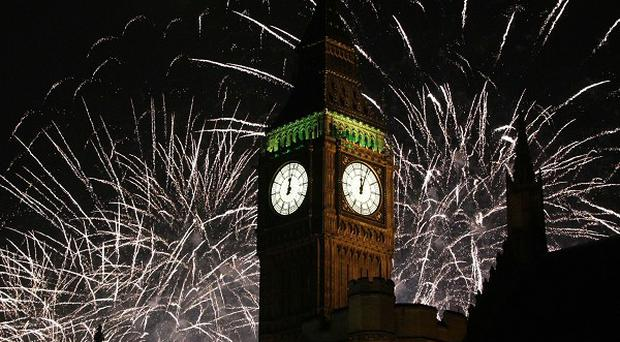 Up to 50,000 revellers will to be able to taste and smell the party atmosphere on the banks of the River Thames for the annual New Year's Eve fireworks display