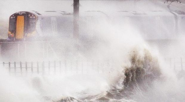 The new year will be heralded by a new bout of severe weather, forecasters warn.