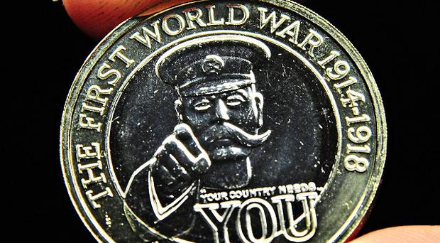 A new coin featuring Lord Kitchener is going into circulation in 2014.