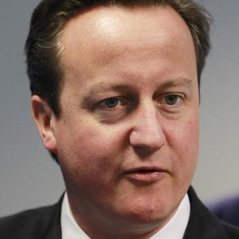 David Cameron said there is a shared commitment to make progress