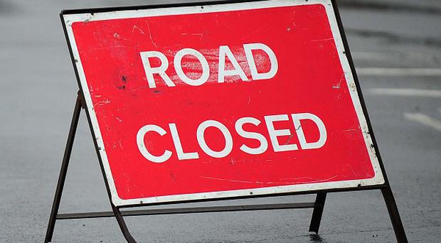 The anti-clockwise carriageway of the M25, between junctions 11 for Chertsey in Surrey, and junction 10 for the A3, was closed for several hours
