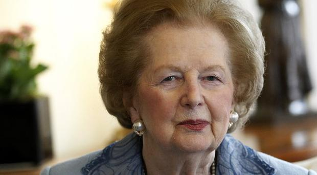 Former prime minister Baroness Thatcher topped the poll