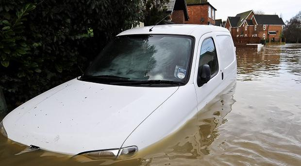Recent floods and gales caused disruption to transport