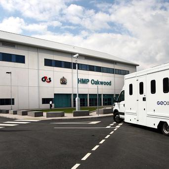 HMP Oakwood where security firm G4S has