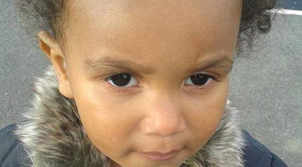 The mother of Amina Agboola, two, from Yaxley, Cambridgeshire, has been charged in connection with her death.