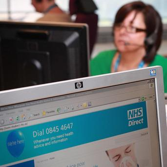 NHS Direct staff have been warned of job losses.