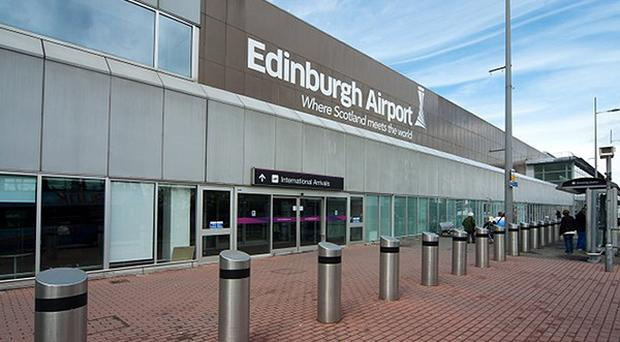 Edinburgh Airport has been evacuated