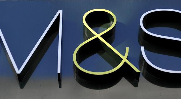 Marks and Spencer has admitted that its clothing and homewares division continued to struggle.