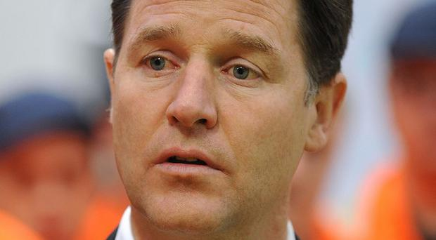 Nick Clegg is not in favour of welfare reforms penalising the young