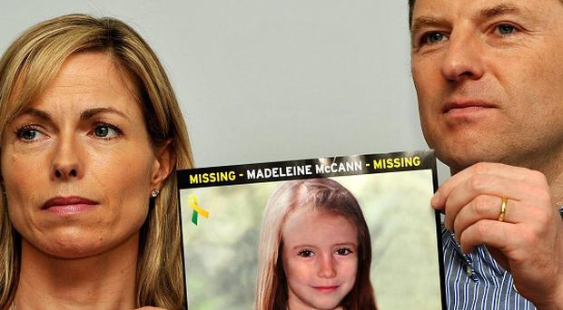 Madeleine McCann's parents Gerry and Kate McCann