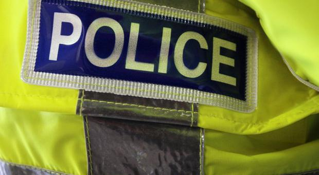 Two men have been held after allegedly travelling from Syria