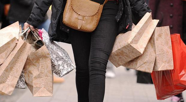 The Christmas high street shopping rush thinned out again in 2013 after December footfall fell 3.7% compared with 2012 as shoppers increasingly turned to the web