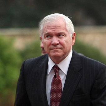 Former US defence secretary Robert Gates