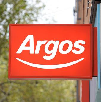 Tablet computers and games consoles helped Argos sales jump