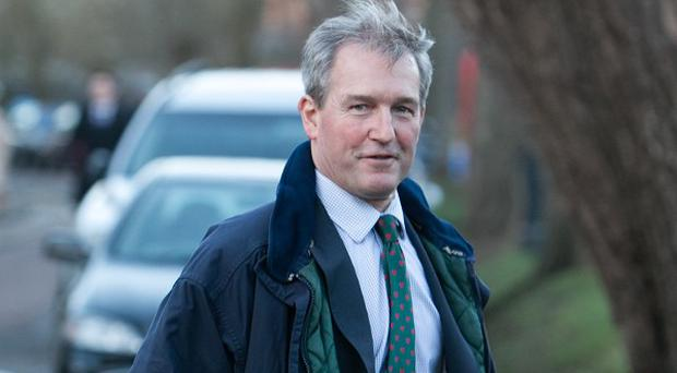 Environment Secretary Owen Paterson claimed spending on flood defences was up