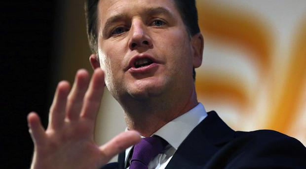 Nick Clegg said there was